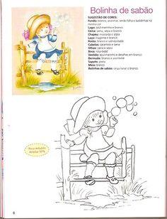 1001 IDÉIAS PINTURA EM TECIDO ANO 02 Nº 03 - Sheila Artesanatos Manuais - Álbuns da web do Picasa
