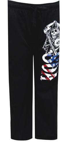 WebUndies.com Sons Of Anarchy American Pride Lounge Pants
