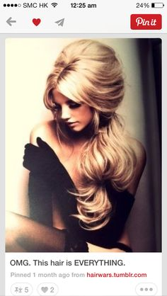 9 Best Big Hair How To Get Volume Without A Teasing Comb Images