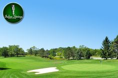 $21 for 18 Holes with Cart and a Bucket of Range Balls at Indian Springs Golf Club in Mechanicsburg near Columbus, Ohio.