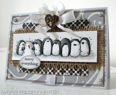penny black penguins
