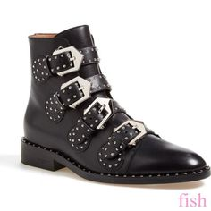 0492588b0fb5 Women s Low Heel Block Ankle Boots Buckle Motorcycle Riding Rivet Suede  Shoes  fashion  clothing
