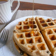 If you think dairy-free waffles were the stuff of dreams, you will happy to know your dreams have come true!
