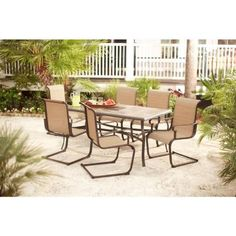 Hampton Bay Belleville Patio Dining Chairs (2 Pack) FCS80198 2PK   The Home  Depot | Outdoor Furniture | Pinterest | Home, Chairs And The Ou0027jays