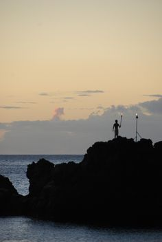 I did this when I stayed at the resort! So exhilarating! [Cliff Diving Ceremony at the Sheraton Maui Resort]