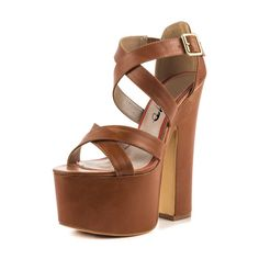 XYD Club Dress Shoes Chunky High Heels Ankle Buckle Strap Platform Pumps Gorgeous Sandals for Women Size 14 Brown. High-heel measurement: approx. 6 inches. Platform measurement: approx. 2.5 inches. Classic strappy vamp, sky high platform and chunky heel make these trendy sandals. Perfect evening dress shoes for any night clubs or big events. Fitting tips: True to size. Half sizes are available. Customization is available. Any special need please just feel free to contact us.
