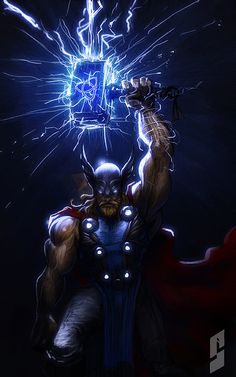 Marvel Heroes & Villains // artwork by Saad Irfan (2013)