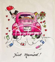 Heidemarie Brosien - JUST MARRIED - Passe-Partout-Bild