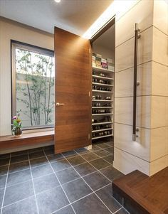 Trendy Home Design Ideas Decoration Houzz House Design, House, Japanese Modern House, House Entrance, House Rooms, House Styles, Bars For Home, House Interior, Trendy Home