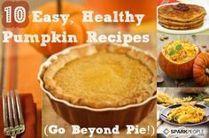 10 ways to eat pumpkin other than pie