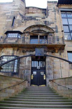 Glasgow School of Art, designed by Charles Rennie Mackintosh