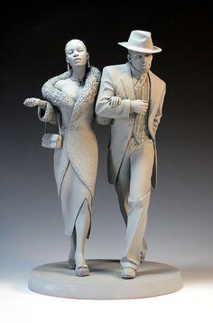 Art contemporain, décoration, dessin : Les sculptures Mark Newman.Blog photo mode - sexe et photos publicité | Blog photo mode - sexe et photos publicité