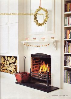 Country Home, December 2003, Make The Holiday Bright, featuring the home of Katrin Cargill