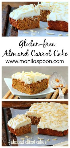 The only Carrot Cake for me as it's really moist and scrumptious - also completely GLUTEN-FREE!