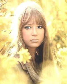 , Pattie Boyd ~ Something in the way she moves, attracts me like no other lover ~ George Harrison
