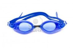 Blue Goggles clear lenses
