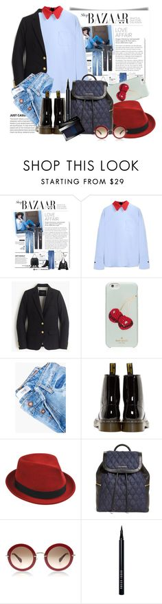 """""""Just casual.."""" by gul07 ❤ liked on Polyvore featuring Marni, J.Crew, Kate Spade, MANGO, Dr. Martens, Stetson, Vera Bradley and Bobbi Brown Cosmetics"""