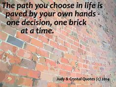 paths in life
