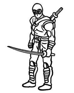 9 Gambar ninja coloring and activity page terbaik