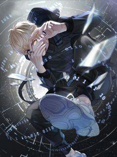 Rock & # n Roll Kids-Opening German (Aishite Night – Art Ideas Hot Anime Boy, Cool Anime Guys, Handsome Anime Guys, Dark Anime Guys, Anime Naruto, Manga Anime, Manga Art, Anime Zone, Badass Anime