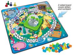 Pop and Learn! Letters & Numbers Game // Learning at Home Pin to Win