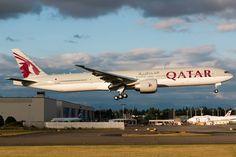 Qatar AIrways A7-BEJ Boeing 777-3DZ/ER