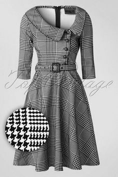 Lilly Swing Dress in Houndstooth Lilly Swing Dress in Houndstooth Vixen Black and White Houndstooth Dress 102 14 16313 20151111 Vixen Black and White Houndstooth Dress 102 14 16313 20151111 retro vintage Dress … . African Fashion Dresses, African Dress, Fashion Outfits, Womens Fashion, Cute Dresses, Vintage Dresses, Vintage Outfits, Vintage Fashion, Prom Dresses