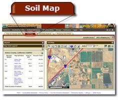 This is the Soil Map tab. Click or press the Escape key to close.
