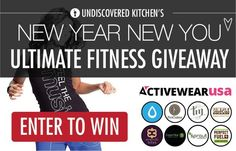 Undiscovered Kitchen's Ultimate Fitness Giveaway! ENTER: http://contest.io/c/xixla0hx