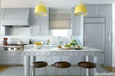 grey kitchen | Massucco Warner Miller Interior Design