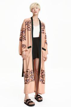 Кимоно с бисером | H&M