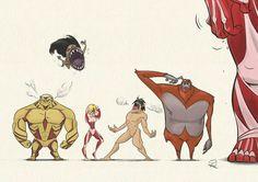 20 Best Attack On Titan - Anime, Cartoon Film Manga, Anime Manga, Anime Art, Attack On Titan Funny, Attack On Titan Anime, Titan Shifter, Armin, Chibi, Humanoid Creatures