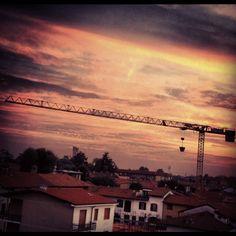 7. Light #octoberphotoaday #sunset #pinksky