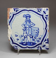 Art Pottery Porceleyne Fles Delft Tile Delf Beautiful In Colour
