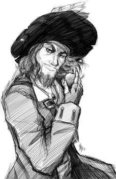 Pirates+of+the+Caribbean:+Hector+Barbossa+by+Smudgeandfrank.deviantart.com+on+@DeviantArt