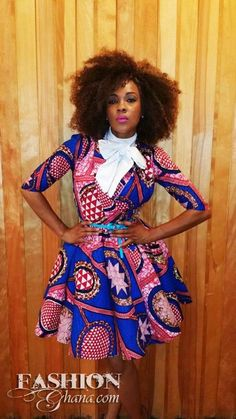 African Inspired Fashion & Natural Hair