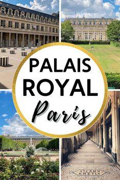 Paris France Travel, Paris Travel Guide, Europe Travel Tips, Paris Garden, Paris Itinerary, Royal Garden, Palais Royal, France Photos, Paris Paris