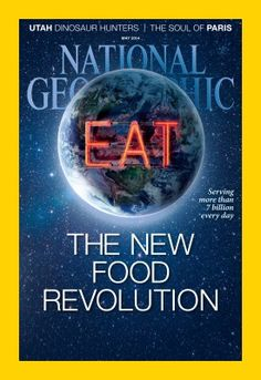 National Geographic magazine, may 2014