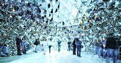 Crystal Dome (Swarovski Kristallwelten-Crystal World, Innsbruck, Austria.)