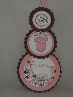 For you - Telescope Card Baby Scrapbook, Scrapbook Cards, Baby Girl Invitations, E Craft, Congratulations Baby, Baby Girl Cards, Shaped Cards, Fun Fold Cards, Animal Cards