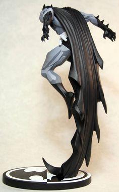 Batman Black and White by Jonathan Matthews on Behance Batman Ninja, Im Batman, Zbrush, Batgirl, Sculpture Art, Sculptures, Hot Wheels, Batman Wallpaper, Hobbies For Men