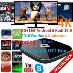 Android Smart TV Box Q-Box 4K 2016 JailBroken Version with Exodus | Other Electronics & Computers | Gumtree Australia Manningham Area - Doncaster | 1117188248
