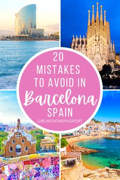 An Expert's Guide to 21 of the Biggest Mistakes that most make when they do a bit of Barcelona travel. Read this post right now so you can plan the Barcelona itinerary of your dreams! Barcelona Travel | Spain Travel | Barcelona Travel Tips | Barcelona Itinerary | Barcelona Things to do | Barcelona Travel Guide | Things to do in Barcelona | Barcelona Spain Travel Tips | Barcelona Spain Travel Guide | Barcelona Spain Things to do | Barcelona Spain Photography | #BarcelonaTravel #BarcelonaGuide Barcelona Travel Guide, Spain Travel Guide, Europe Travel Tips, European Travel, Travel Guides, Malaga, Madrid, Portugal Travel, Culture Travel