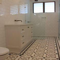 Bathroom Gallery 2 – Renditions Tiles Art Deco Bathroom, Bathroom Gallery, Super White, Porcelain Tile, Wall Tiles, Bella, Bathtub, Flooring, Home