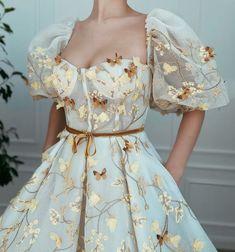 Pretty Prom Dresses, Elegant Dresses, Homecoming Dresses, Cute Dresses, Beautiful Dresses, Vintage Dresses, Prom Party Dresses, Fantasy Gowns, Fairytale Dress