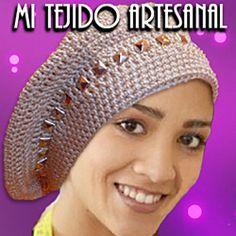 Sombreros, Gorros y Capelinas tejidos al crochet. Realizo diseños especiales por encargo.