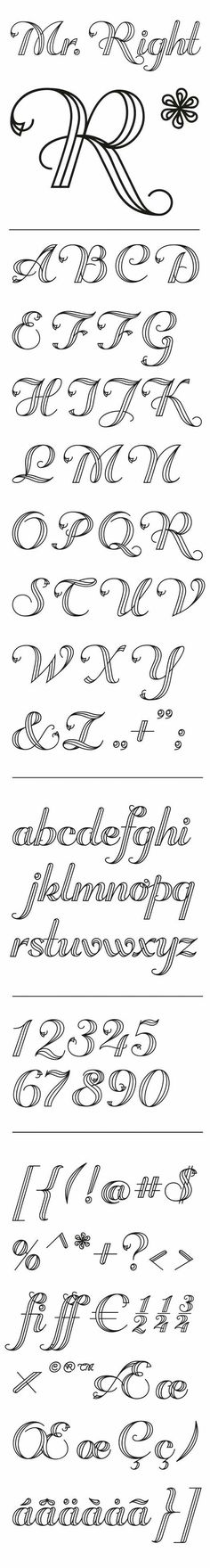 Simple alphabet letters that can be drawn by hand Journal, hand lettering, alphabet, font Easy hand drawn lettering great for journaling scrapbooking wedding invitations Hand Lettering Fonts, Doodle Lettering, Creative Lettering, Lettering Styles, Typography Fonts, Lettering Tutorial, Cursive, Handwriting Fonts, Penmanship