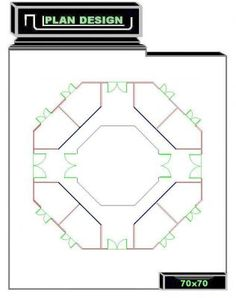 This stall layout with center feed and tack could be interesting, it gives the horses some privacy but they still can have a buddy. Maybe a good idea for stallion barn Dream Stables, Dream Barn, Horse Stables, Horse Barns, Garage Building Plans, Chicken Barn, Horse Barn Plans, Round Pen, Horse Trailers