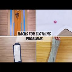 Amazing hacks for your clothing problems! - Amazing hacks for your clothing problems! Sewing Hacks, Sewing Tutorials, Creative Crafts, Diy And Crafts, Balloon Hacks, Bra Hacks, Simple Life Hacks, Clothing Hacks, 1000 Life Hacks