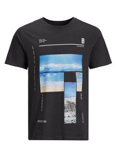 CASUAL T-SHIRT, Asphalt, large #menst-shirtscasual
